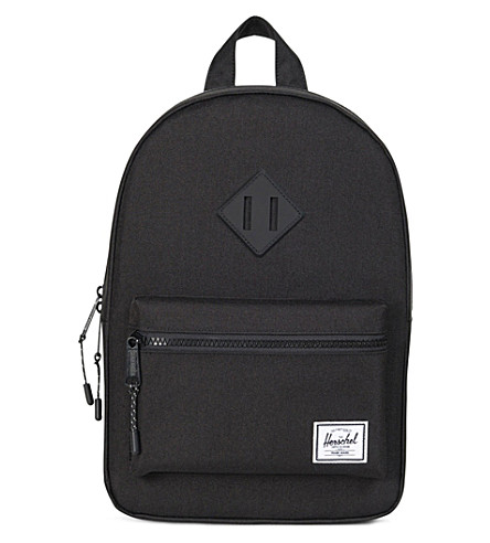 HERSCHEL SUPPLY CO Kids Heritage backpack (Black