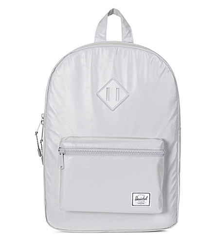 HERSCHEL SUPPLY CO Youth Heritage reflective backpack (Silver
