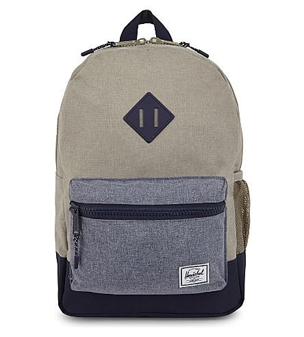 HERSCHEL SUPPLY CO Logo backpack (Light+khaki