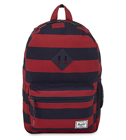 HERSCHEL SUPPLY CO Heritage striped backpack