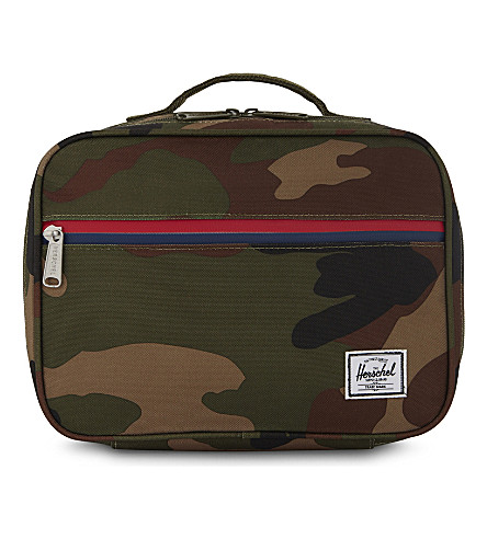 HERSCHEL SUPPLY CO Camo print lunch box (Woodland+camo