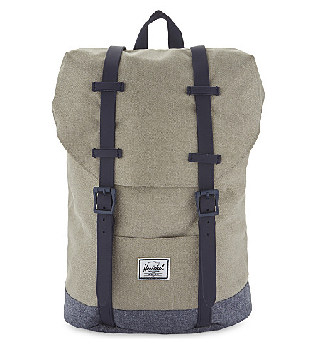 HERSCHEL SUPPLY CO Retreat canvas backpack