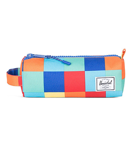 HERSCHEL SUPPLY CO Settlement square-print pencil case (Primary