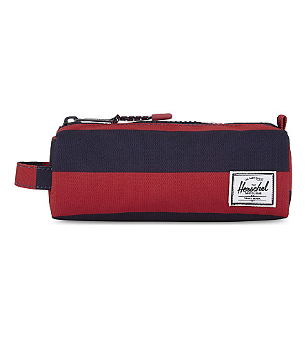 HERSCHEL SUPPLY CO Stripe canvas pencil case