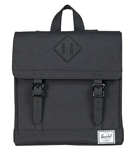 HERSCHEL SUPPLY CO Survey satchel backpack (Black