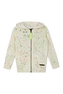 FINGER IN THE NOSE Hayden paint splash hoody 4-14 years