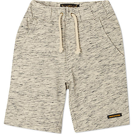 FINGER IN THE NOSE Alrick sweat shorts 4-14 years (Grey