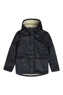 FINGER IN THE NOSE Monty Teddy lined parka jacket 4-16 years