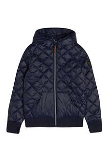 FINGER IN THE NOSE Buckley quilted hooded jacket 4-16 years