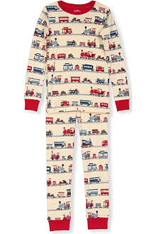 HATLEY Train-print pyjamas 2-8 years