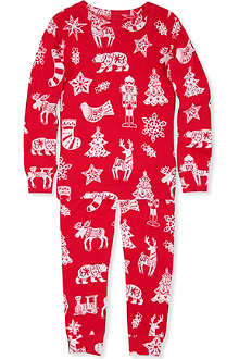 HATLEY Christmas-print pyjamas 2 - 8 years