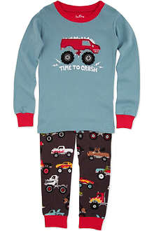 HATLEY Monster truck-print pyjamas 2 - 8 years