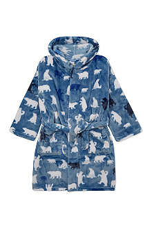 HATLEY Polar bear fleece robe S-L