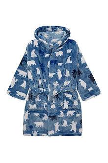 HATLEY Polar bear fleece robe S-L
