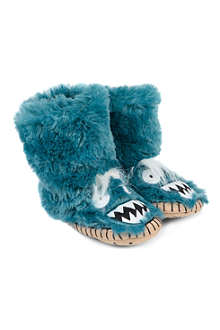 HATLEY Ice Monster slippers 5-13 years