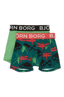 BJORN BORG Two pack boxers 1-14 years