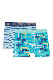 BJORN BORG Boxer shorts twin-pack 2-14 years