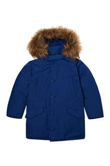 WOOLRICH Faux-fur polar coat 2-14 years