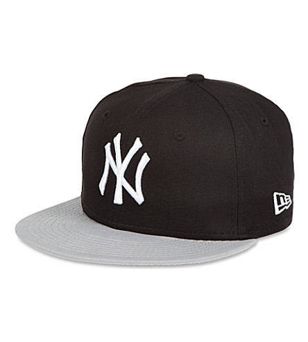 NEW ERA NY 59fifty baseball cap (Black / grey