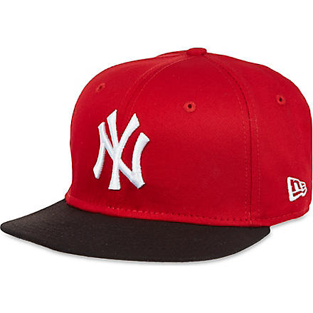 NEW ERA NY 59fifty baseball cap (Red / black