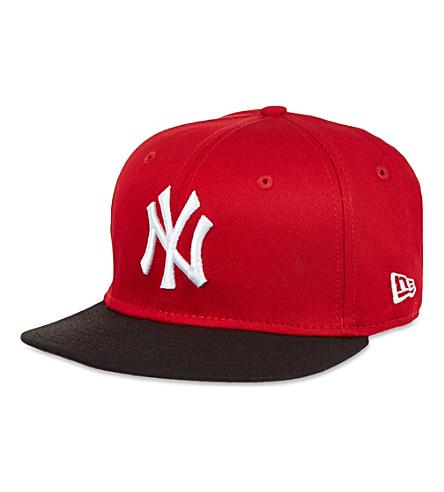 NEW ERA NY 59fifty baseball cap (Red / black