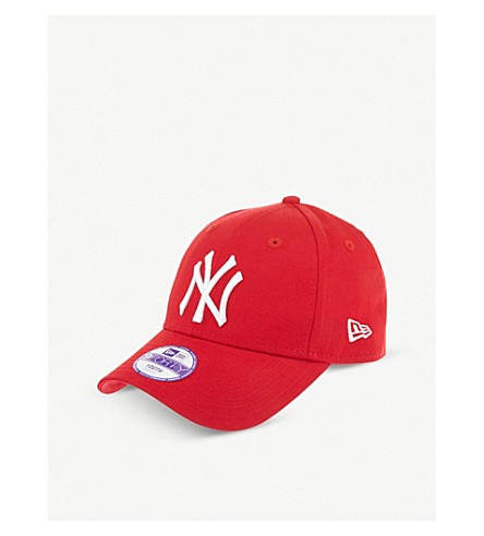 NEW ERA New york yankee 9forty baseball cap (Scarlet/white