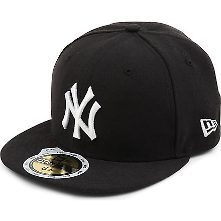 NEW ERA New York Yankees 59FIFTY baseball cap XS-L (Black