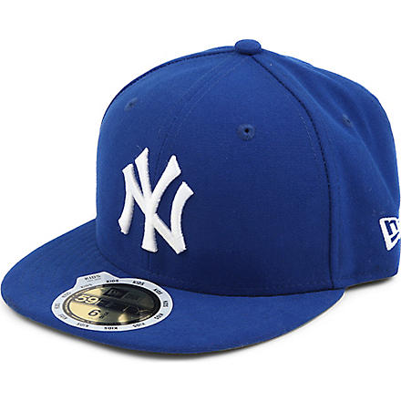 NEW ERA New York Yankees 59FIFTY baseball cap XS-L (Blue