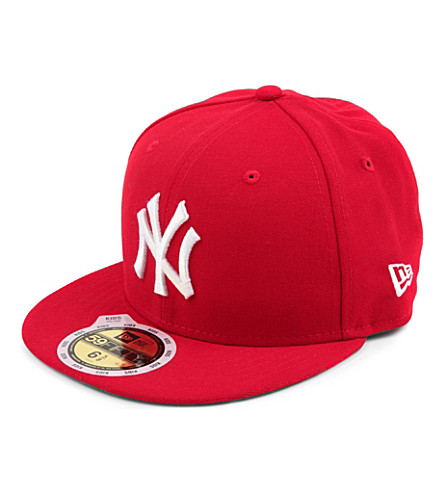 NEW ERA New York Yankees 59FIFTY baseball cap XS-L (Red