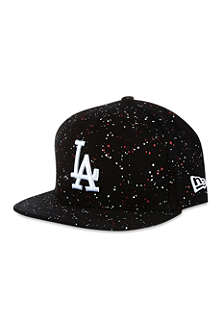 NEW ERA Speckled LA flat peak cap