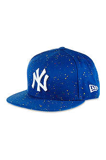 NEW ERA Speckled NY flat peak cap