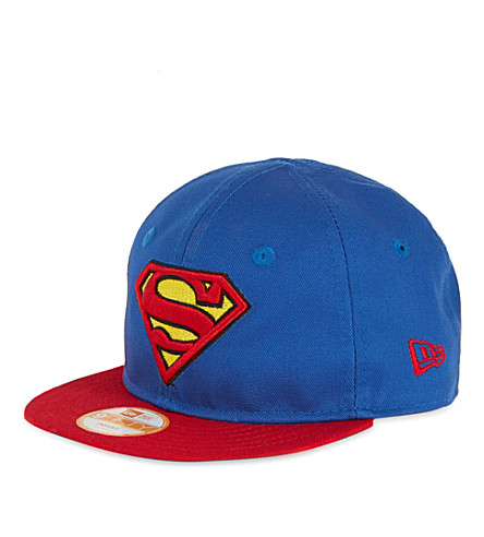 NEW ERA 9FIFTY Superman snapback (Blue/red