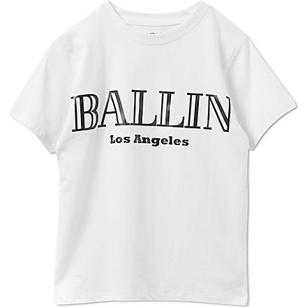 SERIOUSLY Ballin Los Angeles t-shirt 4-14 years (White