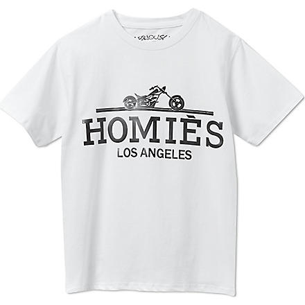 SERIOUSLY Homies t-shirt 4-14 years (White
