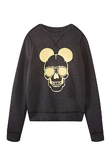 SERIOUSLY Liquid gold Mickey sweatshirt 4-14 years