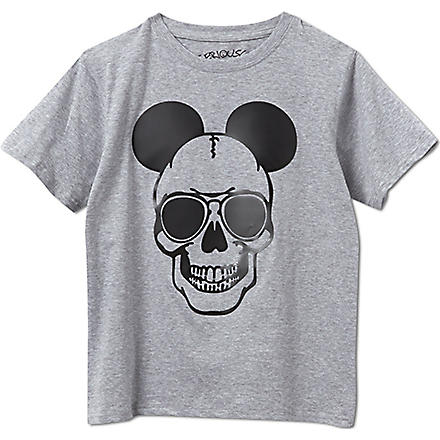 SERIOUSLY Mickey t-shirt 4-14 years (Grey