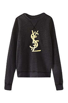 SERIOUSLY Liquid gold money sweatshirt 4-14 years