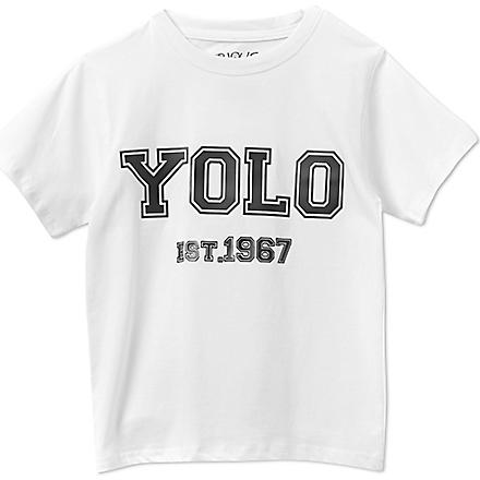 SERIOUSLY Yolo t-shirt 4-14 years (White