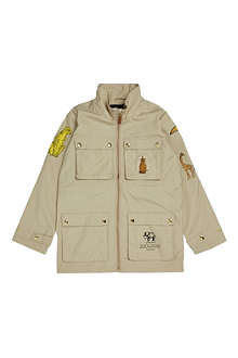 MINI RODINI Zoologist four-pocket jacket 2-11 years