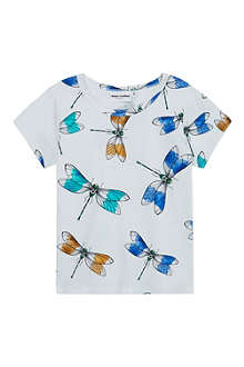 MINI RODINI Dragonfly print t-shirt 2-11 years