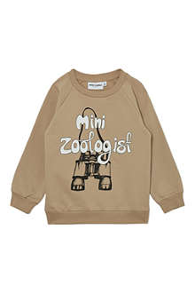 MINI RODINI Zoologist sweatshirt 2-11 years