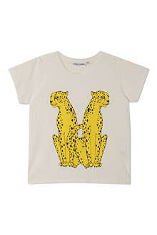 MINI RODINI Mr Cheetah print t-shirt 2-11 years