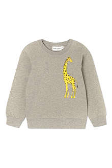 MINI RODINI Mr Giraffe sweatshirt 2-11 years