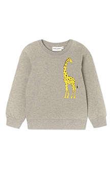 MINI RODINI Mr Giraffe sweatshirt 2-11 years