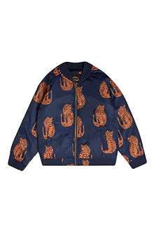 MINI RODINI Tiger print bomber jacket 2-11 years