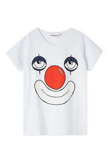 MINI RODINI Clown print t-shirt 2-11 years