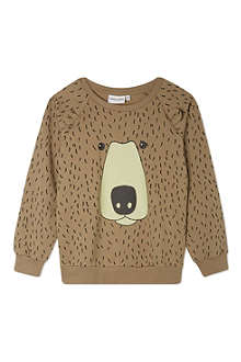 MINI RODINI Bear sweatshirt 2-11 years