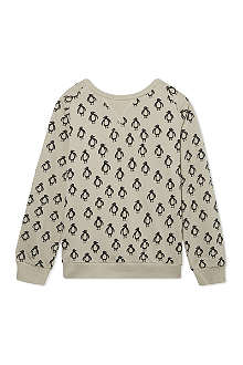 MINI RODINI Penguin print sweatshirt 2-11 years