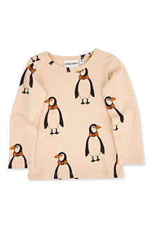 MINI RODINI Penguin t-shirt 3 months-11 years