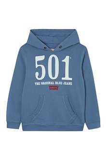 LEVI'S 501 logo hoody 2-16 years